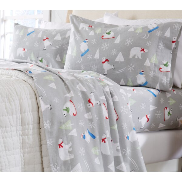 Extra Soft Printed 100% Cotton Sheet Set by Home Fashion Designs